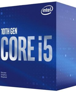 BX8070110400F-P-Intel Core i5-10400F CPU 2.9GHz (4.3GHz Turbo) LGA1200 10th Gen 6-Cores 12-Threads 12MB 65W Graphic Card Required Retail Box 3yrs ~BX8070811400F