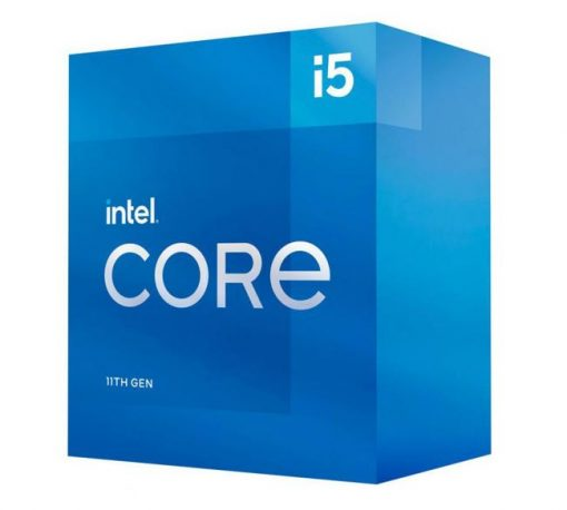 BX8070811400-P-Intel i5-11400 CPU 2.6GHz (4.4GHz Turbo) 11th Gen LGA1200 6-Cores 12-Threads 12MB 65W UHD Graphics 750 Retail Box 3yrs Rocket Lake