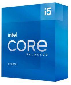 BX8070811600K-P-Intel i5-11600K CPU 3.9GHz (4.9GHz Turbo) 11th Gen LGA1200 6-Cores 12-Threads 12MB 125W UHD Graphics 750 Unlocked Retail Box 3yrs ~BX8070811600KF