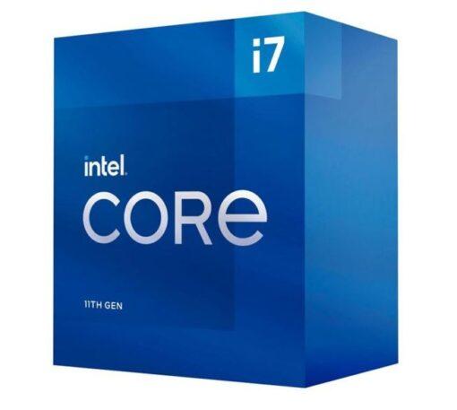 BX8070811700-P-Intel i7-11700 CPU 2.5GHz (4.9GHz Turbo) 11th Gen LGA1200 8-Cores 16-Threads 16MB 65W UHD Graphics 750 Retail Box 3yrs Rocket Lake ~BX8070110700