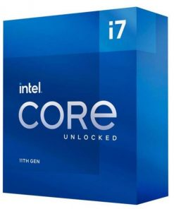 BX8070811700K-P-Intel i7-11700K CPU 3.6GHz (5.0GHz Turbo) 11th Gen LGA1200 8-Cores 16-Threads 16MB 125W UHD Graphics 750 Unlocked Retail Box 3yrs ~BX8070110700K