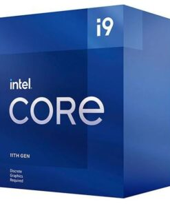 BX8070811900F-P-Intel i9-11900F CPU 2.5GHz (5.2GHz Turbo) 11th Gen LGA1200 8-Cores 16-Threads 16MB 65W Graphic Card Required Retail Box 3yrs Rocket Lake