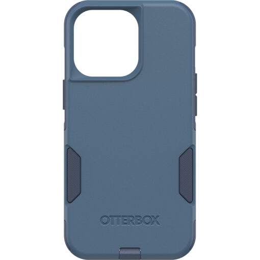 77-83440-OtterBox Apple iPhone 13 Pro Commuter Series Antimicrobial Case - Rock Skip Way (Blue) 77-83440