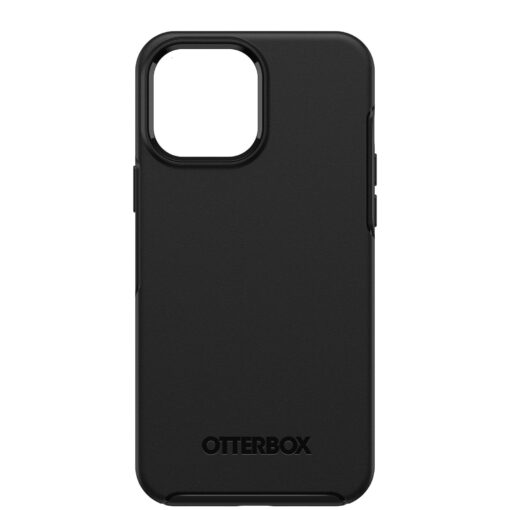 77-83482-OtterBox Apple  iPhone 13 Pro Max Symmetry Series Antimicrobial Case - Black (77-83482)