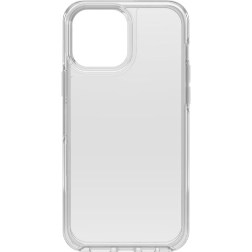 77-83505-OtterBox iPhone 13 Pro Max Symmetry Series Clear Antimicrobial Case - Clear (77-83505)