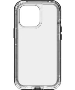 77-83513-LifeProof NEXTAntimicrobial Case For Apple  iPhone 13 Pro - (77-83513) Black Crystal (Clear/Black)