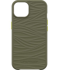 77-83564-LifeProof WAKE Case for Apple  iPhone 13  - Green( 77-83564 ) - Mellow wave pattern