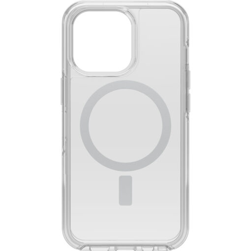 77-83638-OtterBox Apple iPhone 13 Pro Symmetry Series+ Clear Antimicrobial Case for MagSafe - Clear (77-83638)