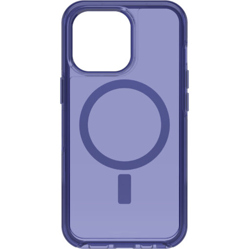 77-83640-OtterBox Apple iPhone 13 Pro Symmetry Series+ Clear Antimicrobial Case for MagSafe - Feelin Blue (77-83640)