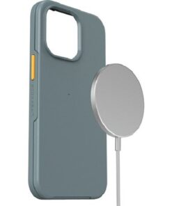 77-83699-LifeProof SEE Case With MAGSAFE For Apple iPhone 13 Pro - Anchors Away (Grey/Orange) (77-83699)