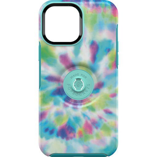77-84590-OtterBox Apple  iPhone 13 Pro Max Otter + Pop Symmetry Series Antimicrobial Case - Day Trip Graphic (Green/Blue/Purple) (77-84590)