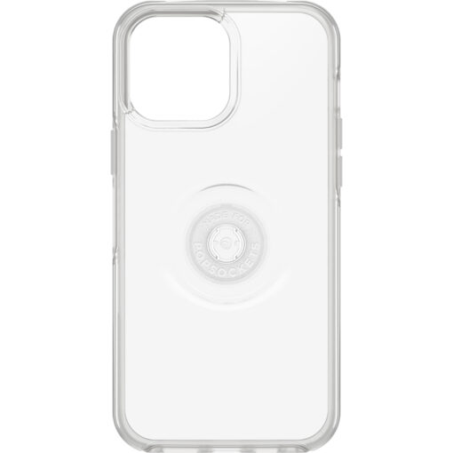 77-84637-OtterBox Apple iPhone 13 Pro Max Otter + Pop Symmetry Series Clear Case - Clear Pop (77-84637)