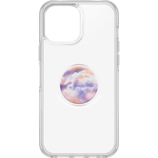 77-84639-OtterBox Apple iPhone 13 Pro Max Otter + Pop Symmetry Series Clear Case - Stardust Pop (77-84639)