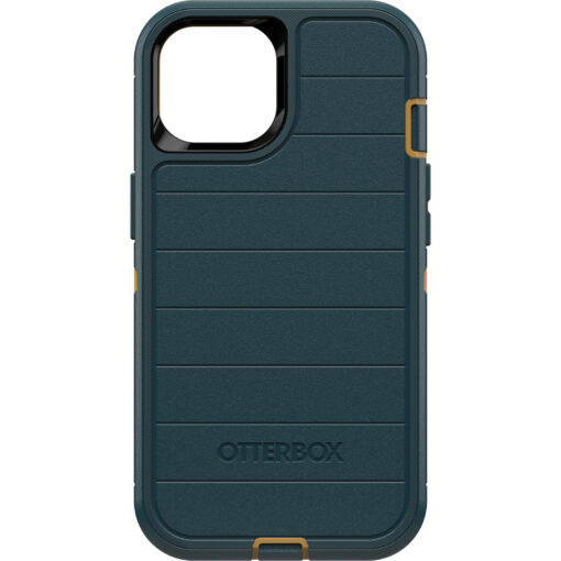 77-85478-OtterBox Apple  iPhone 13 Defender Series Pro Case -  Ant Hunter Green(77-85478) - Made with 50% recycled plastic