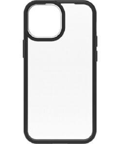 77-85581-OtterBox Apple iPhone 13 mini React Series Case - Black Crystal (Clear/Black) ( 77-85581 )