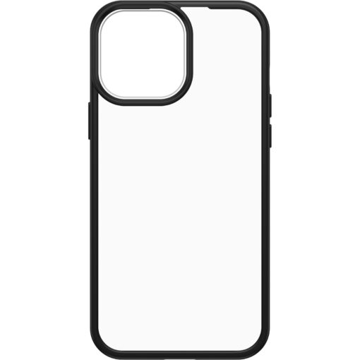 77-85597-OtterBox Apple  iPhone 13 Pro Max React Series Case  -  Black Crystal (Clear/Black) (77-85597)