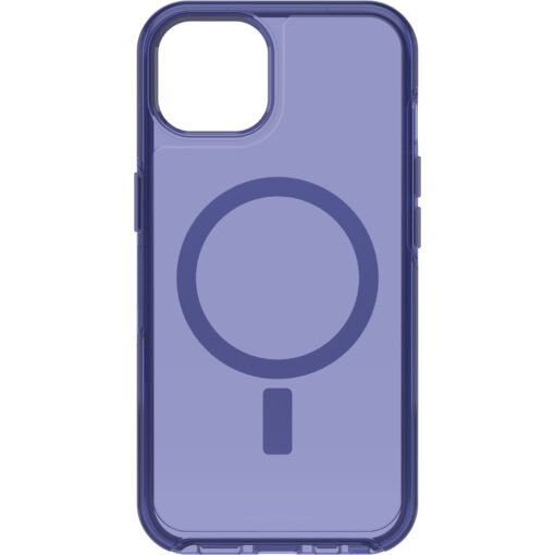 77-85645-OtterBox Apple  iPhone 13 Symmetry Series+ Clear Antimicrobial Case for MagSafe - Feelin Blue(77-85645)  - Optimal charging speed and performance