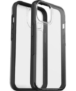 77-85650-LifeProof SEE CASE FOR APPLE iPHONE 13 -  Clear/Black(77-85650) - Sustainably made from 50% recycled plastic