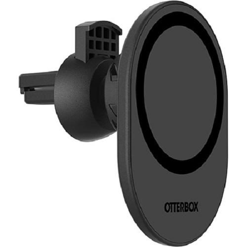 78-80445-Otterbox MagSafe Car Vent Mount Black -  Strong magnetic alignment and attachment
