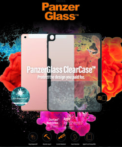 """0291-PanzerGlass™ ClearCase For Apple iPad 10.2"""" - Military grade standard"""