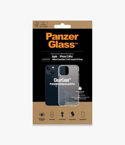 0312-PanzerGlass™ ClearCase™ iPhone 13 Mini - Military grade standard