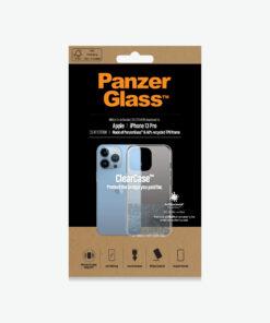 0322-PanzerGlass™ ClearCase™ iPhone 13 Pro - Slim Fashionable Design