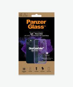 0327-PanzerGlass™ SilverBullet Case for iPhone 13 Mini - Grape - Slim Fashionable Design