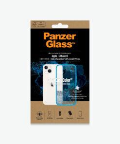 0331-PanzerGlass™ SilverBullet Case for iPhone 13 Mini - Bondi Blue - Slim fashionable design