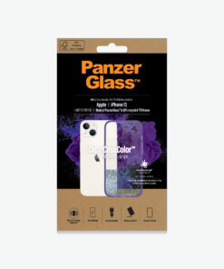 0332-PanzerGlass™ SilverBullet Case for iPhone 13 -  Grape - Slim Fashionable Design