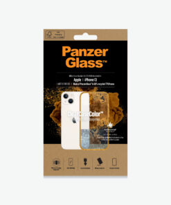0333-PanzerGlass™ ClearCaseColor™Apple  iPhone 13 - Tangerine Limited Edition