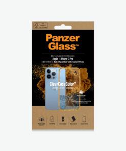 0338-PanzerGlass™ SilverBullet Case for iPhone 13 Pro - Tangerine - Slim Fashionable Design