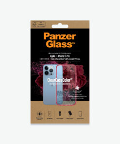 0340-PanzerGlass™ SilverBullet Case for iPhone 13 Pro - Strawberry - Slim Fashionable Design