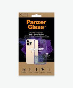 0342-PanzerGlass™ SilverBullet Case for iPhone 13 Pro Max - Grape - Slim Fashionable Design
