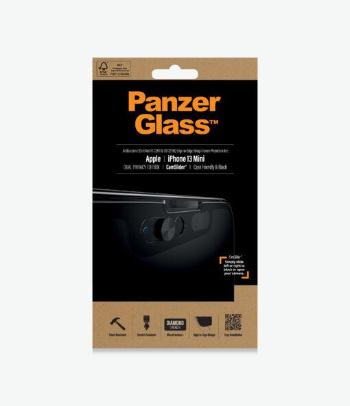 P2747-PanzerGlass™ iPhone 13 Mini - Dual Privacy - Screen Protector - Case Friendly