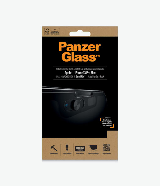 P2749-PanzerGlass™ Apple  iPhone 13 Pro Max - Dual Privacy™ Screen Protector