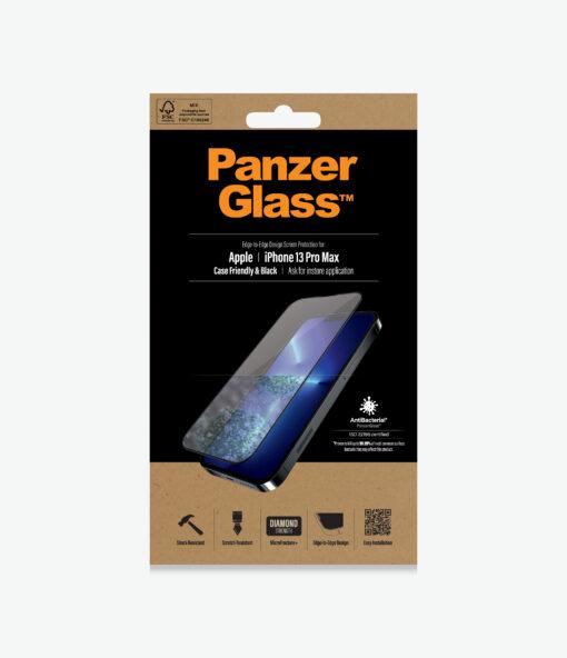 PRO2746-PanzerGlass™ iPhone 13 Pro Max - Antibacterial Screen Protector - Anti-bacterial glass