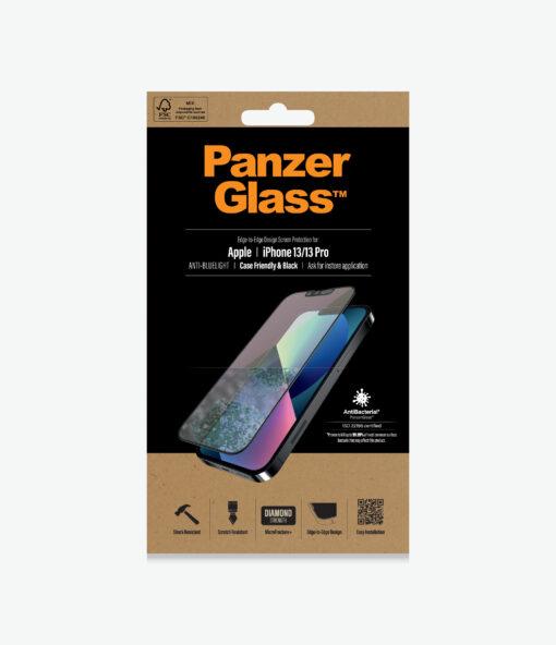PRO2757-PanzerGlass™ iPhone 13/13 Pro - Anti-Bluelight - Screen protector