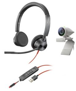 2200-87130-025-Poly Studio P5 and Blackwire 3325 work from home bundle
