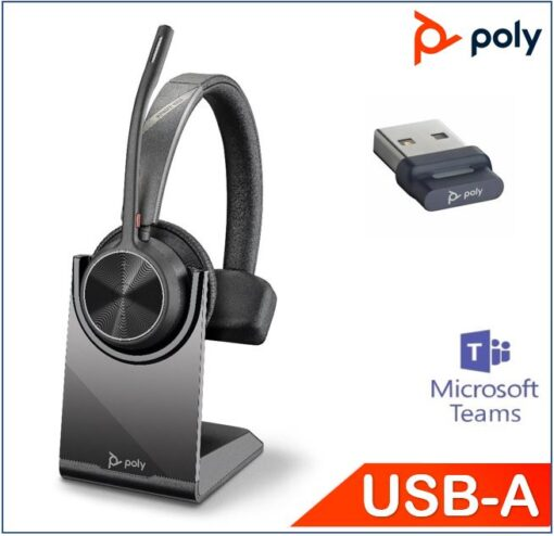 218471-02-Plantronics/Poly Voyager 4310 UC with Charge Stand