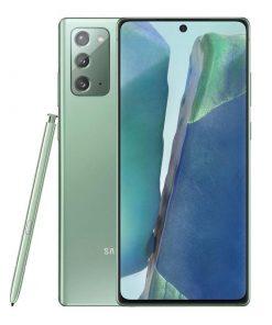 SM-N980FZGEXSA-Samsung Galaxy Note20 256GB Mystic Green - S-Pen