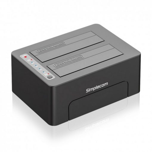 "SD422-Simplecom SD422 Dual Bay USB 3.0 Docking Station for 2.5"" and 3.5"" SATA Drive"