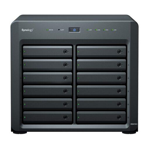 DS2419+II-Synology DiskStation DS2419+II 12 Bay Intel Atom C3538 4G DDR4 Hot Swappable 4xRJ-45 1GbE LAN 2xUSB3.2 1xExpansion Port 1x Gen3 x8 slot 3 Yr WTY