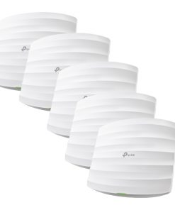 EAP245(5-pack)-TP-Link EAP245(5-pack) AC1750 Wireless MU-MIMO Gigabit Ceiling Mount Access Point