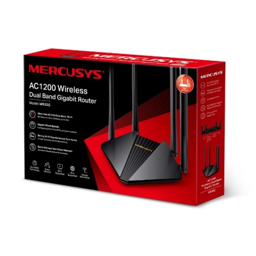 MR30G-Mercusys MR30G AC1200 Wireless Dual Band Gigabit Router
