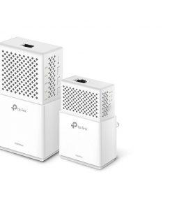 TL-WPA7510KIT-TP-Link TL-WPA7510-KIT AV1000 1000Mbps Gigabit Powerline AC Wi-Fi Kit 2.4GHz@300Mbps 5GHz@433Mbps 1x1Gbps Port HomePlug WPA7510+PA7010 300m Range (LS)