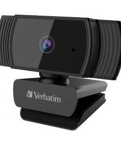 66631-Verbatim Webcam Full HD 1080P with Auto Focus - Black