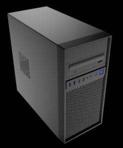 "17307-Aywun 307 Business  Office mATX with 500w PSU. 2x 5.25"" and 1x 3.5"" External"