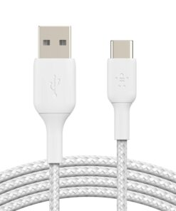 CAB0.02bt1MBK-Belkin Boost↑Charge USB A to USB C ™Braided Cable