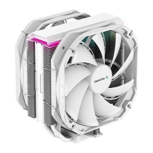 R-AS500-WHNLMP-G-Deepcool AS500 PLUS White CPU Cooler Single Tower