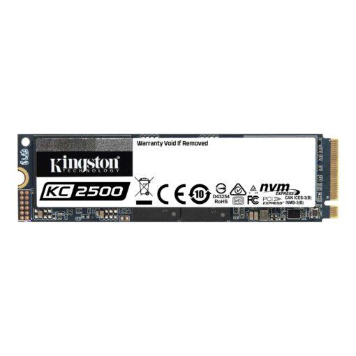 SKC2500M8/250G-Kingston KC2500 250G M.2 NVMe PCle SSD 3D NAND 3